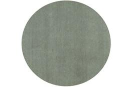 6' Round Rug-Elation Shag Slate