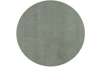 72 Inch Round Rug-Elation Shag Slate