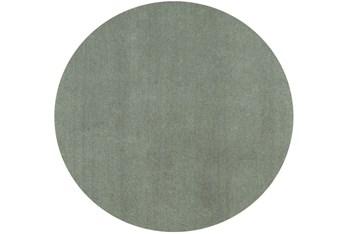 8' Round Rug-Elation Shag Slate