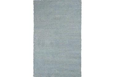"""3'3""""x5'3"""" Rug-Elation Shag Heather Blue"""