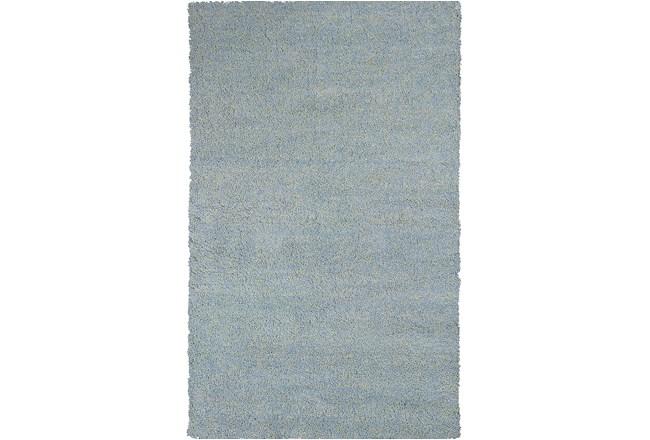 39X63 Rug-Elation Shag Heather Blue - 360