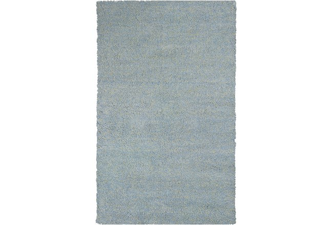 90X114 Rug-Elation Shag Heather Blue - 360