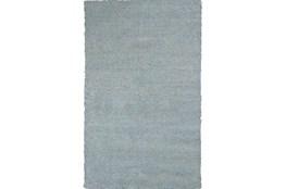 8'x11' Rug-Elation Shag Heather Blue