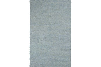 96X132 Rug-Elation Shag Heather Blue
