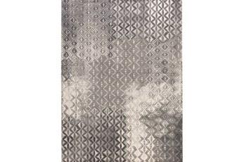 """7'9""""x10'8"""" Rug-Elysee Charcoal"""