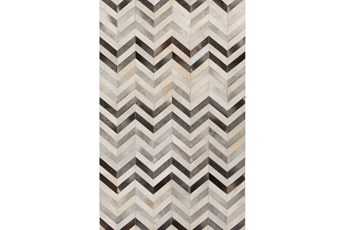 5'x8' Rug-Kenton Chevron Hide