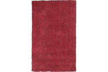 8'x11' Rug-Elation Shag Heather Red