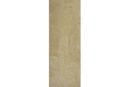 27X90 Runner Rug-Elation Shag Heather Yellow