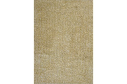 96X132 Rug-Elation Shag Heather Yellow - Main