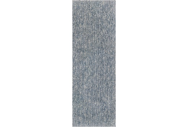 27X90 Runner Rug-Elation Shag Heather Slate - 360