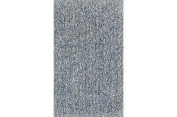 60X84 Rug-Elation Shag Heather Slate