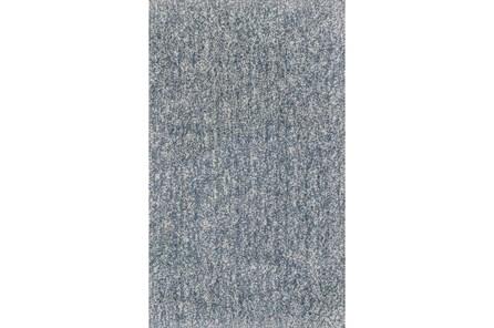 60X84 Rug-Elation Shag Heather Slate
