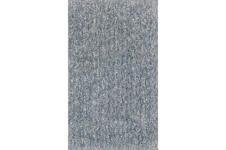 96X132 Rug-Elation Shag Heather Slate