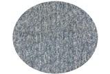 96 Inch Round Rug-Elation Shag Heather Slate - Signature