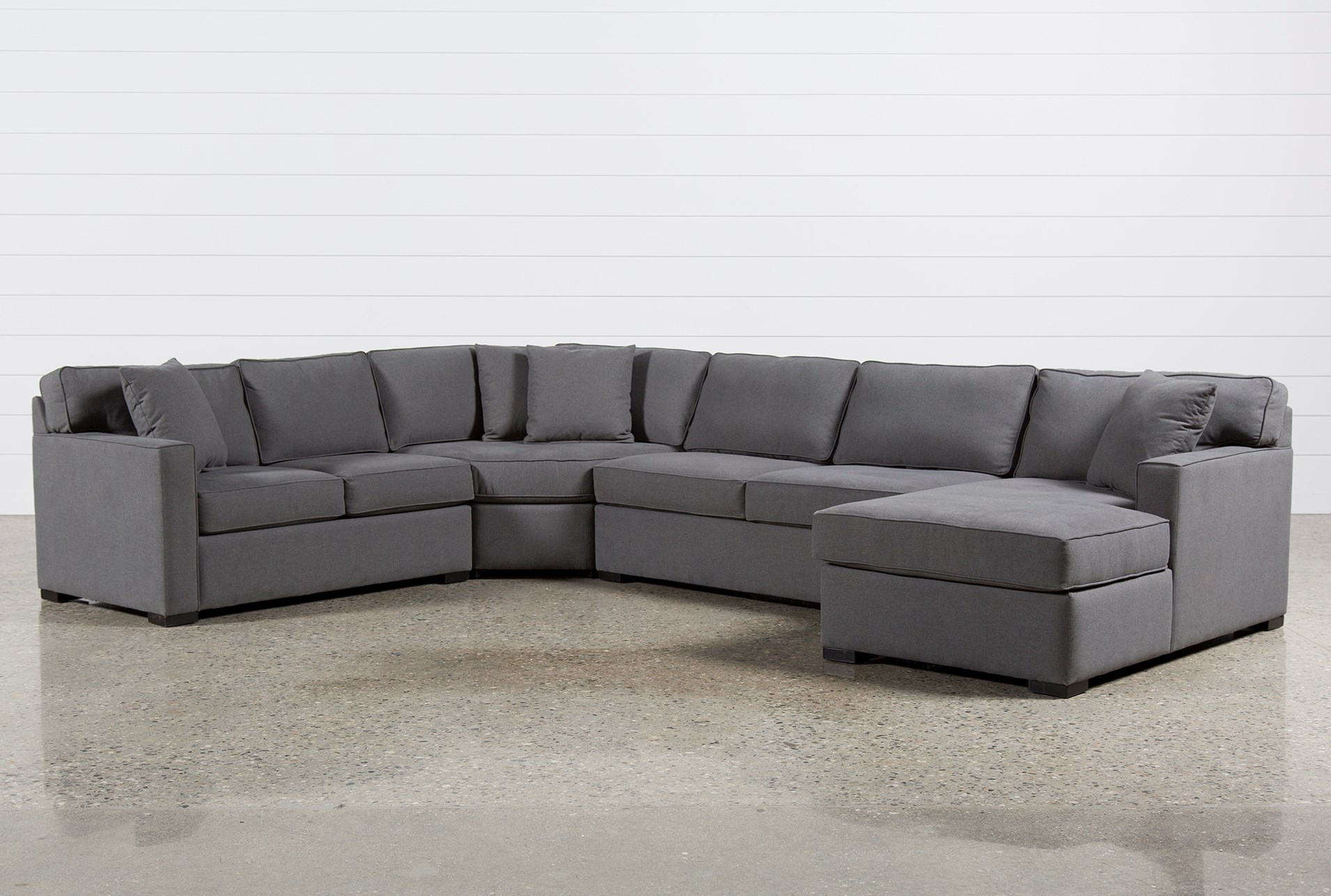 4 Piece Sectional Sofa Brown 4 Piece Sectional Sofa With ...
