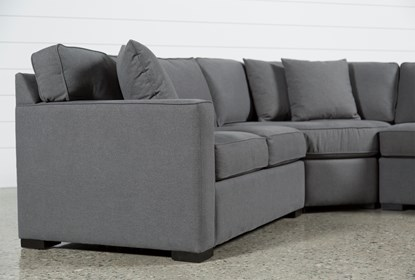 Sensational Alder Foam 4 Piece Sectional W Right Arm Facing Chaise Dailytribune Chair Design For Home Dailytribuneorg