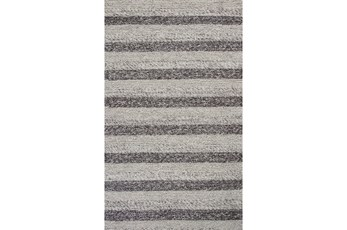 5'x7' Rug-Charlize Grey/White