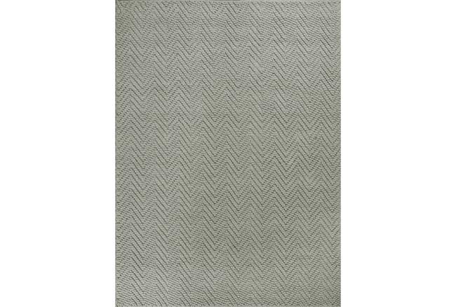 96X132 Rug-Emory Grey Herringbone - 360