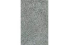 90X114 Rug-Velardi Grey Shag