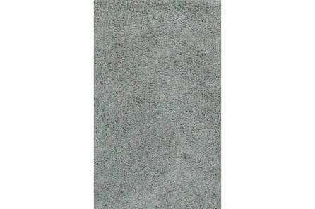 90X114 Rug-Velardi Grey Shag - Main