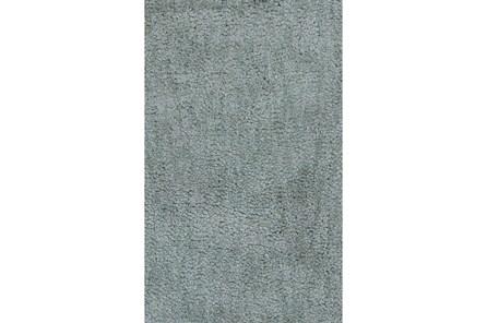 90X114 Rug-Velardi Seafoam Shag