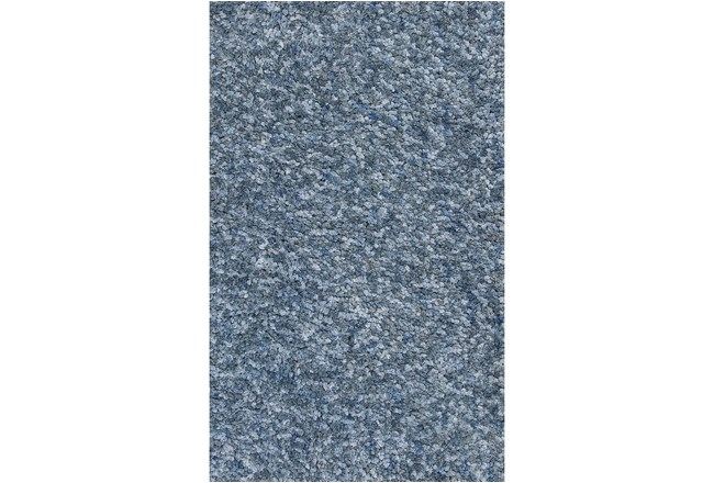 39X63 Rug-Velardi Denim Heather Shag - 360