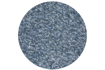 72 Inch Round Rug-Velardi Denim Heather Shag - Main