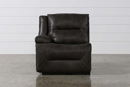 Calder Grey Power Left Facing Recliner