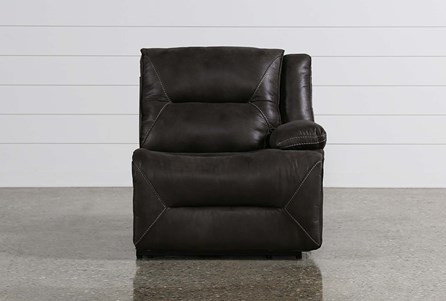 Calder Grey Power Right Facing Recliner