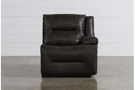 Calder Grey Power Right Facing Recliner - Main