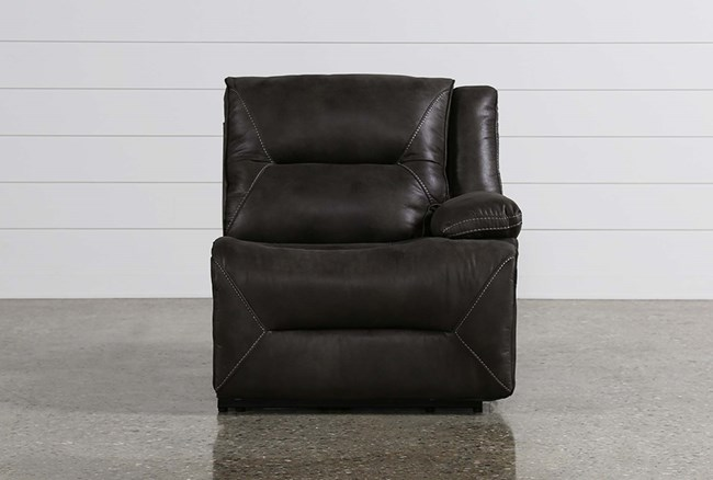 Calder Grey Power Right Facing Recliner - 360
