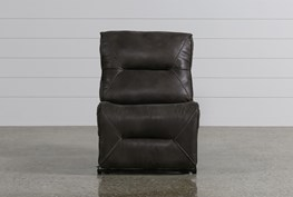 Calder Grey Armless Power Recliner