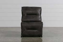 Calder Grey Armless Chair