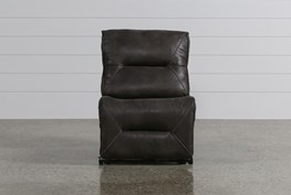 Calder Grey Armless Recliner