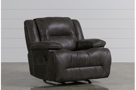 Calder Grey Recliner - Main