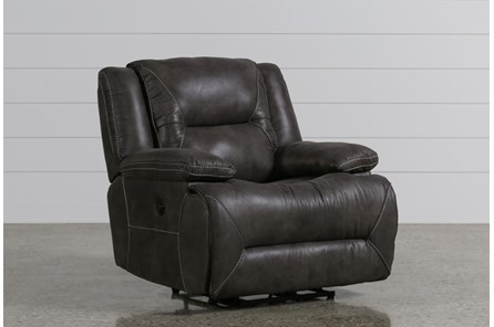 Calder Grey Power Recliner - Main