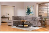 Aspen 2 Piece Sleeper Sectional W/Laf Chaise - Room