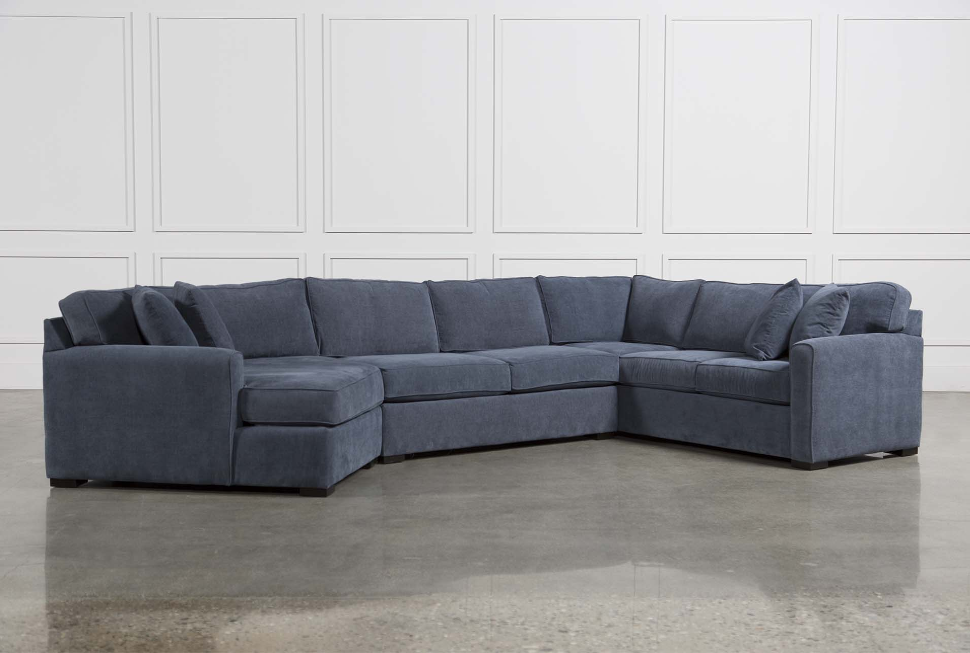 Genial Cypress 3 Piece Sectional