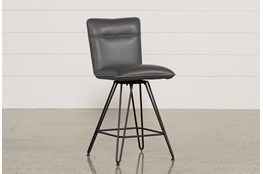 Kyle 24 Inch Cobalt Counter Stool