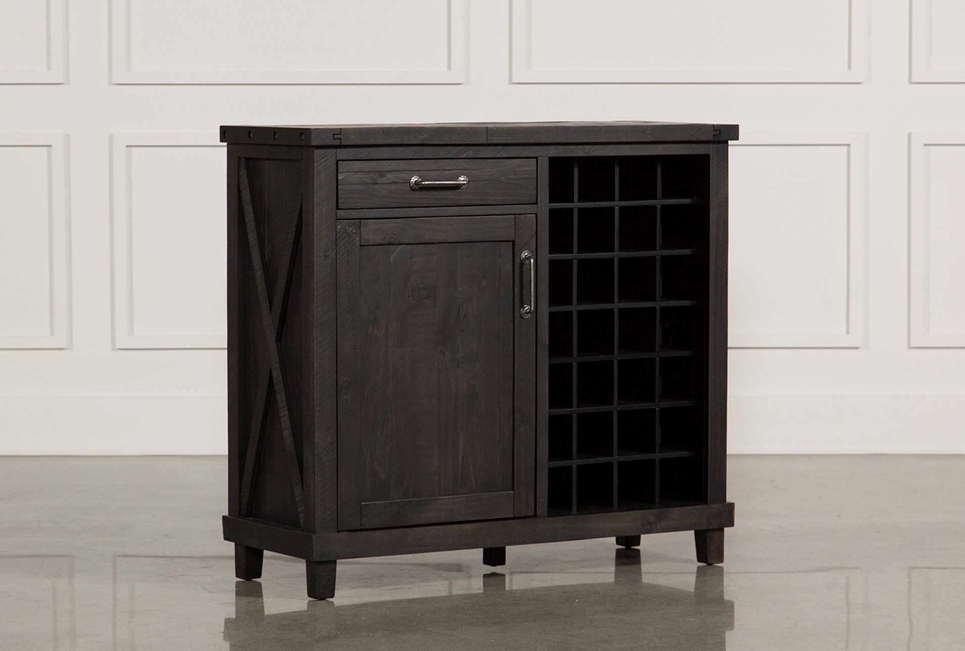 Jaxon Wine Cabinet Living Spaces