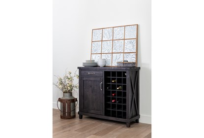 Jaxon Wine Cabinet Living Spaces