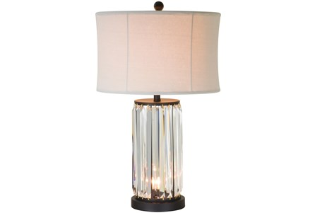 Table Lamp-Antoinette Crystal W/Nightlight