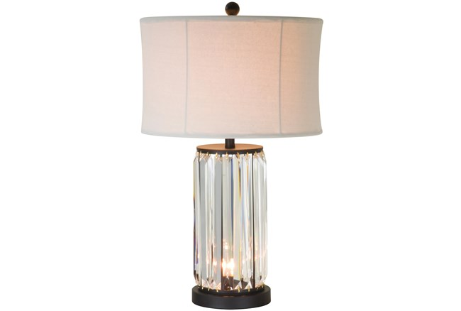 Table Lamp-Antoinette Crystal W/Nightlight - 360