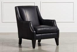 Aidan Leather Accent Chair