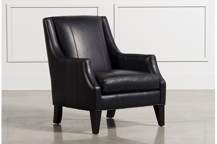 Aidan Leather Accent Chair - Main