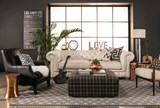 Aidan Leather Accent Chair - Room