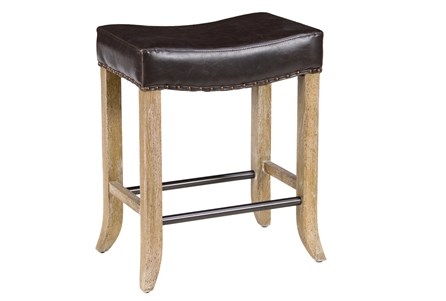 Harley Chocolate Backlesss Counterstool