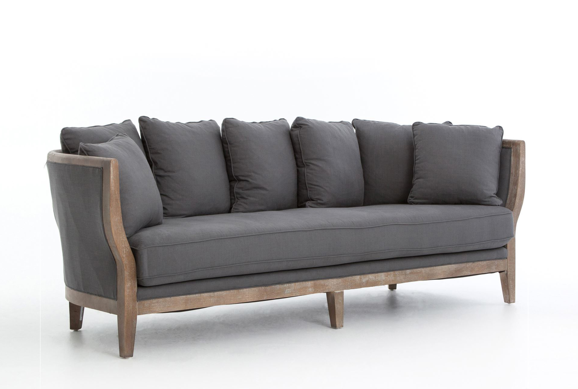 Hayden Charcoal Sofa   360 Elements