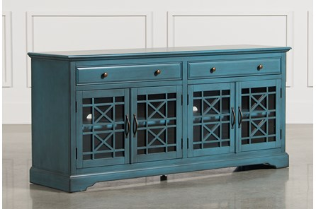 Annabelle Blue 70 Inch TV Stand - Main