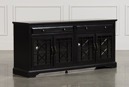 Annabelle Black 70 Inch TV Stand